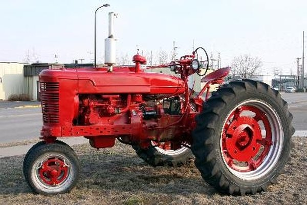 Read the hour meter on a tractor you are selling or buying.