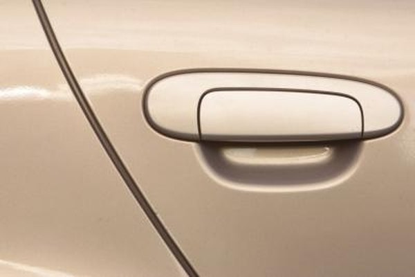 Car doors should shut easily and latch securely with no play in the mechanism.