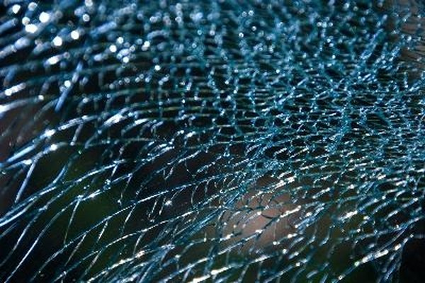 A cracked windshield needs replacing immediately.