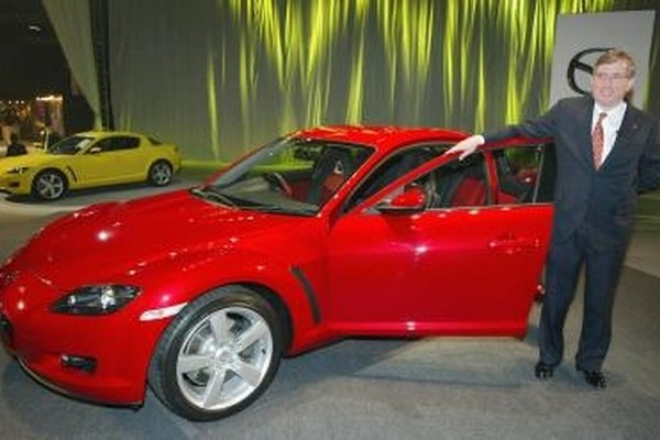 The Mazda RX-8 sports the latest model of rotary engine: the RENESIS.