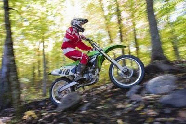 The 250cc engine is a popular size for sport and recreational use.