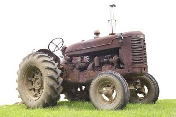 The Farmall Super M is larger and more powerful than previous Farmall models.