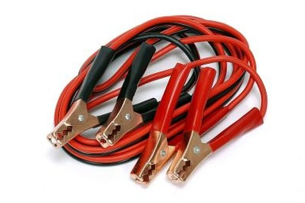 Jumper cables can be used to start an automobile with a dead battery.