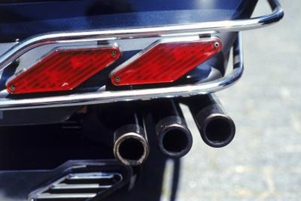 The size and type of exhaust tips on your vehicle will affect the sound output.