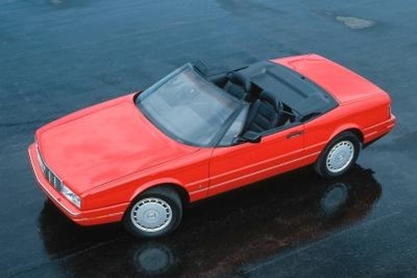 The Cadillac Allante convertible was made from 1987 to 1993.