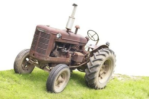 The 2N and 9N were similar tractor models.