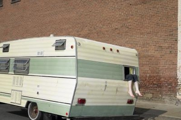 Registering a camper trailer is nearly the same as registering a car.