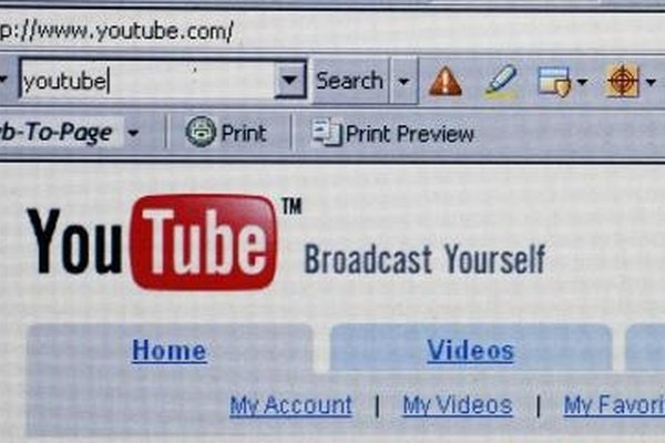 Uploading an MOV file to YouTube will allow you to broadcast it to Internet viewers around the world.