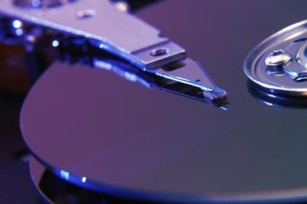 Any damage to a hard drive can corrupt its data.