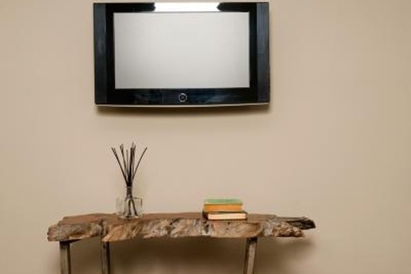 Mount your flat panel in the cleanest possible manner.