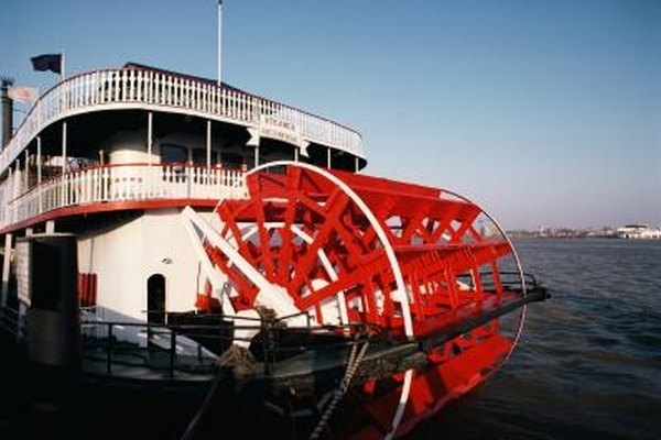 Steamboats thrived in the transportation industry until they were replaced by the railroads.