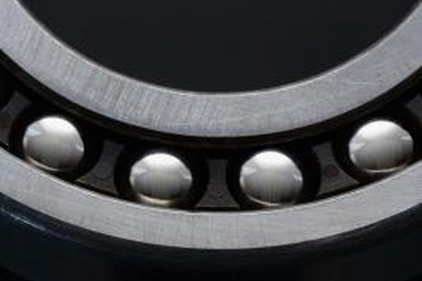 Bearings reduce the coefficient of friction between two moving parts.