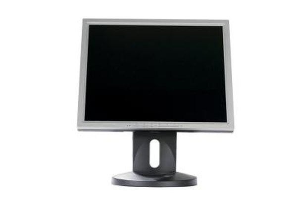 LCD monitors are a source of some electromagnetic field radiation.