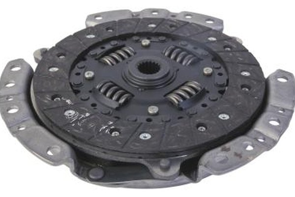 The main component of the clutch features spring tensioners and friction plates.