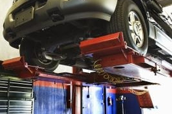 The air suspension system in a Ford Expedition replaced the spring suspension system found in older vehicles.