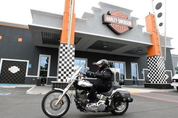 S&S Cycles manufactures aftermarket engines for Harley-Davidson motorcycles.