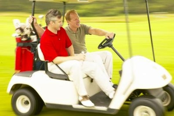 Golf carts can reach speeds of 20 miles per hour.