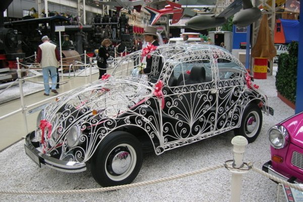 A custom VW Bug