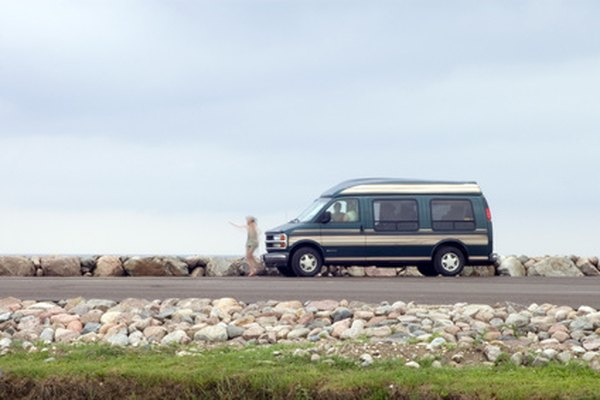 Conversion Vans Can Be Outfitted With Living Accommodations And Specialty Equipment