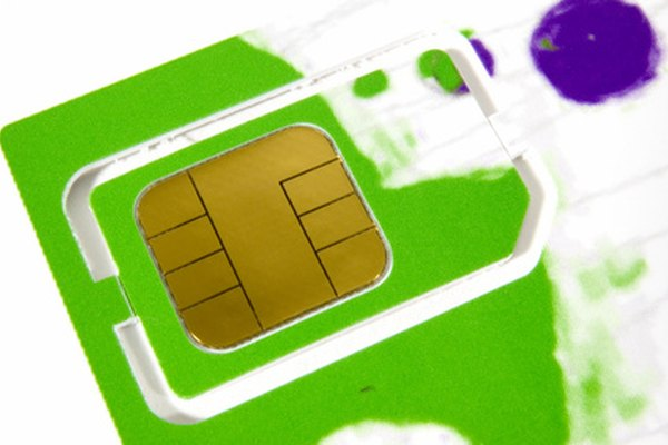SIM cards let users easily switch phones and use the same carrier's network and phone number.
