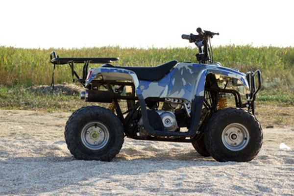 Connect a second battery to your all-terrain vehicle for added battery endurance.