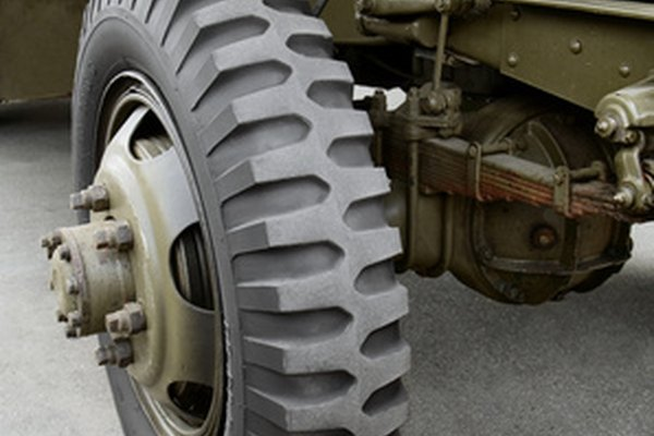 This suspension uses an over-slung design, meaning the spring sits on top of the axle.