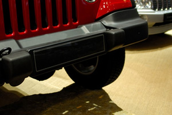 Late-model Jeep Wranglers have a 3.8-liter V-6 engine.