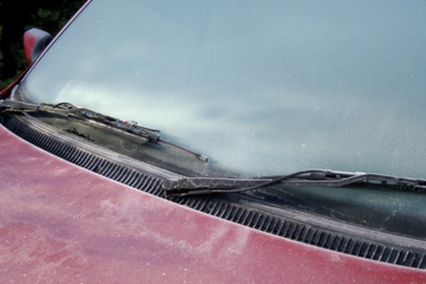A commercial anti-fog product may help prevent ice build-up on your car windows.