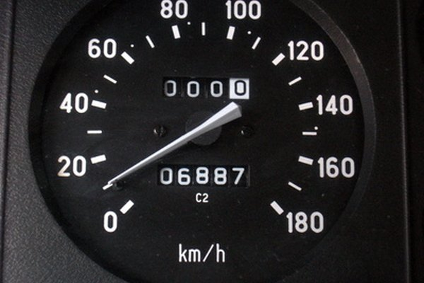 Some speedometer needles can show erratic behavoir, which can mean poor lubrication.