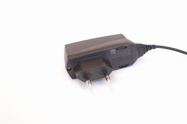 A car phone charger, producing 6 to 12 V, is a practical home voltage source.