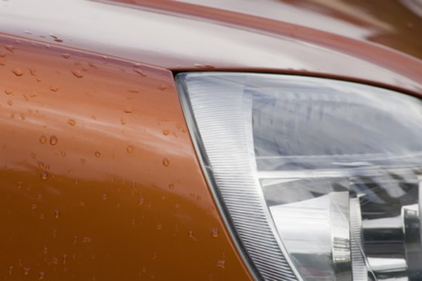DuPont Centari paints produce a high-gloss weather-resistant finish.