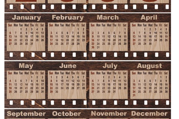 The Mac has a calendar creation program built into its operating system.