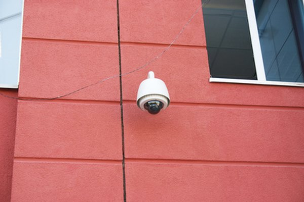 Security cameras can show you who in on your property.