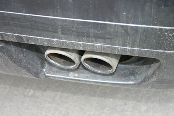 Some cars use multiple catalytic converters to reduce necessary levels of emissions.