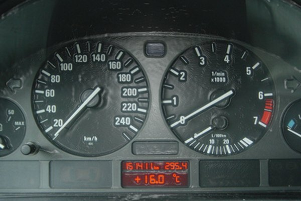 A warning light on your dashboard can warn you of overheating.