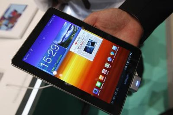 Samsung's Galaxy Tab series comes in a variety of screen sizes.