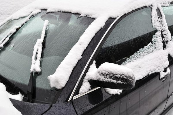 With a little preparation, you can keep your doors from freezing closed.