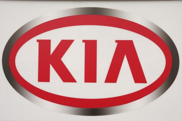 The Kia logo.