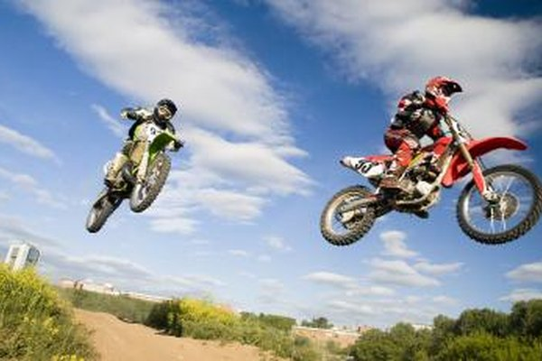 Kawasaki KX motorcycles are often used in motocross events.