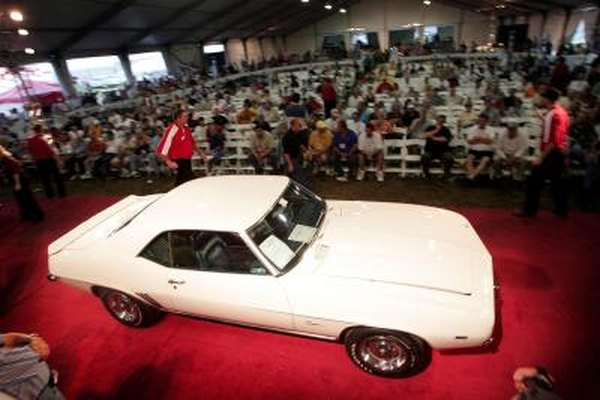 1969 Chevrolet Camaro ZL-1 on auction block