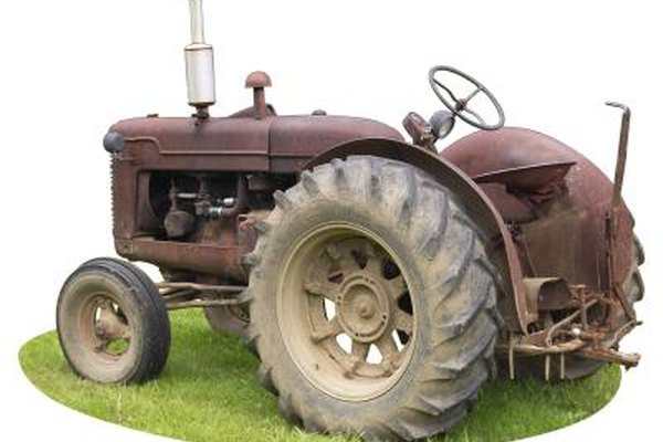 Older model tractors typically have voltage regulators that mount independent of the generator.