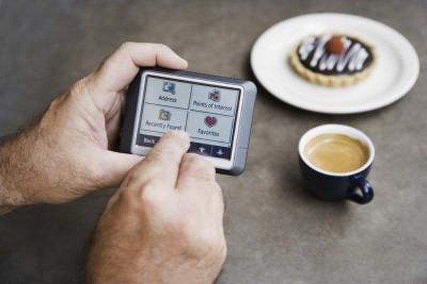 The TomTom GO 920 can guide users to points of interest, including coffee shops.