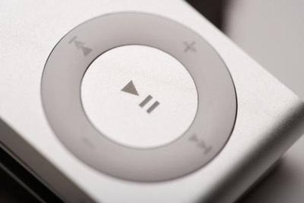 A modern iPod can hold thousands of songs.
