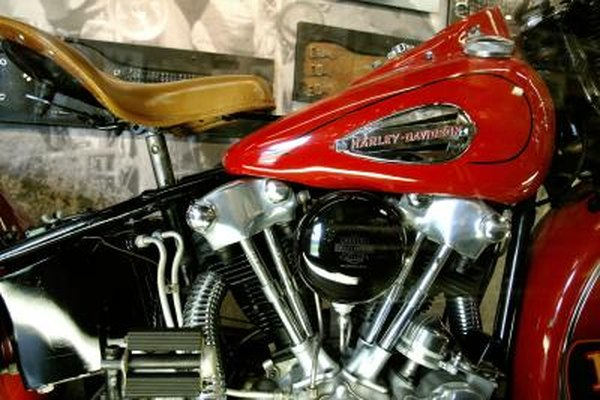 1950s Harley-Davidson often featured Calypso Red and Flight Red paint schemes.
