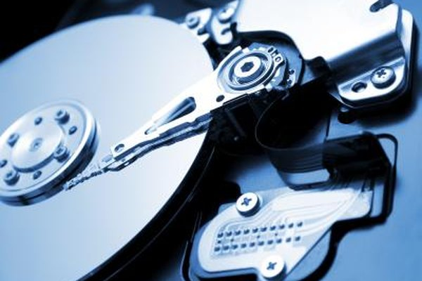Hard drives use delayed writing to improve performance.