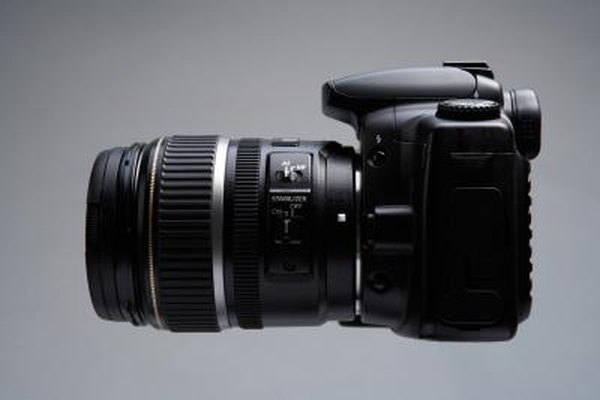 DSLR cameras use a special kind of shutter.