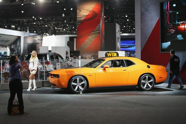 The 5.7-liter Hemi gives the 2014 Challenger the muscle needed to back its retro looks.