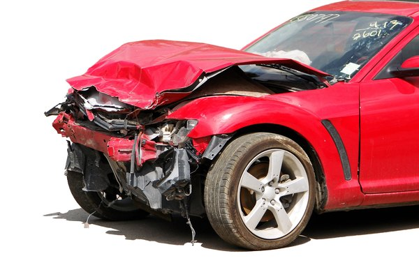A salvage certificate prevents a totaled vehicle from being reregistered until it's repaired.