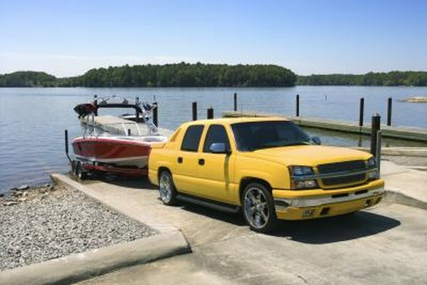 Boat trailers are made of galvanized metal to protect them from the elements.