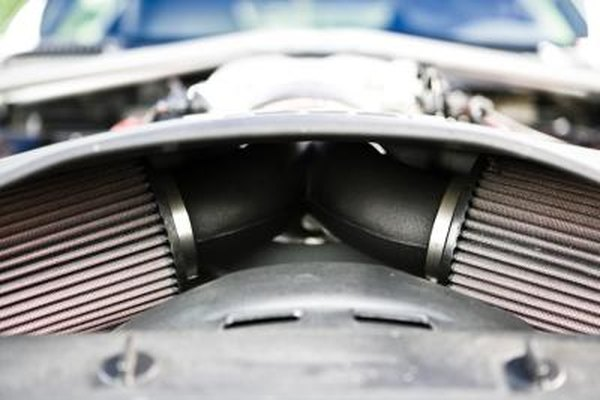 The job of the air filter is to keep dirt and debris from entering the engine.